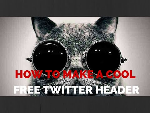 How to Make a Twitter Header Template Free with Canva Graphics Software
