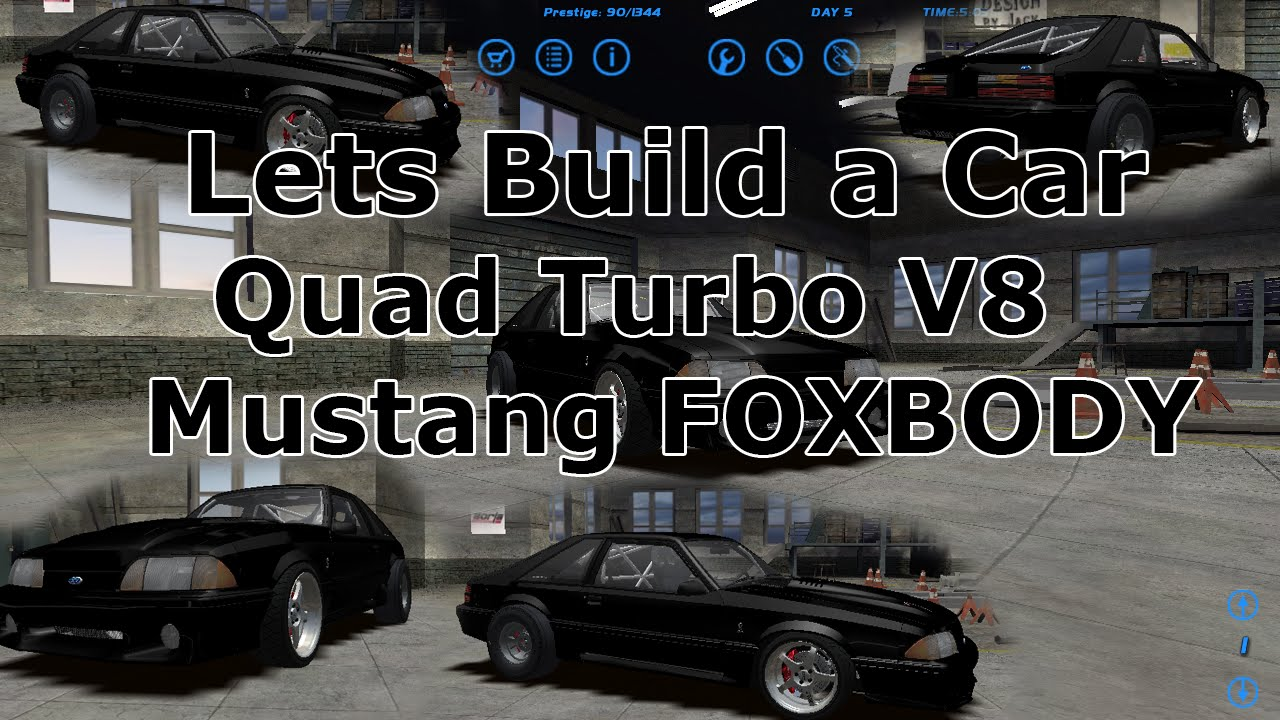 Slrr Lets Build A Car Quad Turbo Ford Mustang Foxbody Ep