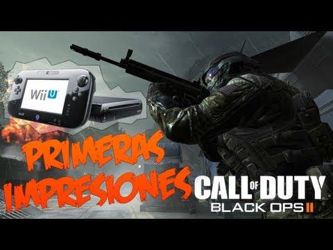 Wii U   Primeras impresiones sobre Black Ops 2 [1080p]