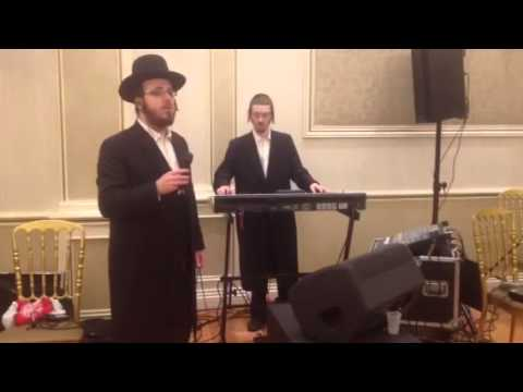 Yeedle Kahan with Yoely Greenfeld Toivim