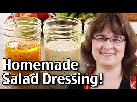 Homemade Salad Dressing Recipes And Soap Making!