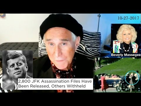 Roger Stone Covers JFK/Files, Interview Eye Witness, Latest News & Current events 10/27