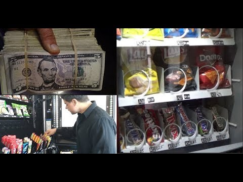 Pulling Cash COLLECTING From My VENDING MACHINE Business: HOW MUCH 3 VENDING MACHINES MADE IN 1 WEEK