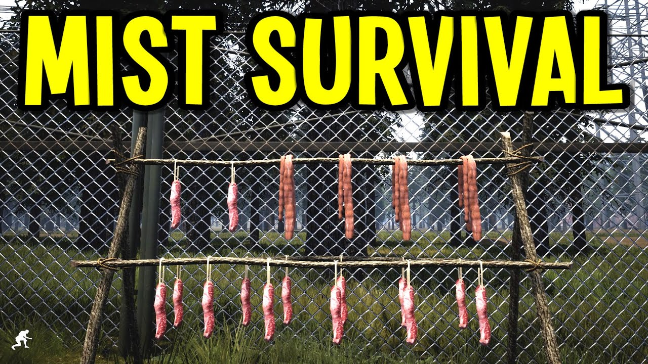 Mist Survival - Drying Salted Meat and Cooking Fat into Low Grade Fuel! - S3E03