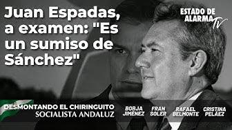 Imagen del video: Desmontando el Chiringuito Andaluz; Juan Espadas, a examen; con Borja Jiménez y Fran Soler