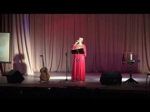 Юлия Славянская с концертом в Чехове.