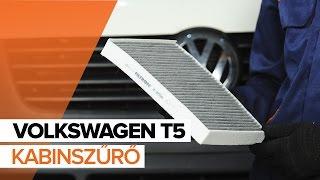 Hogyan cseréljünk Utastér levegőszűrő VW TRANSPORTER V Platform/Chassis (7JD, 7JE, 7JL, 7JY, 7JZ, 7FD) - video útmutató