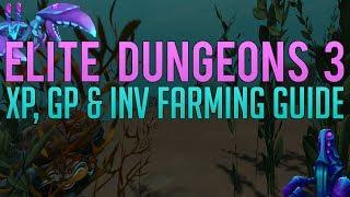 Full Elite Dungeons 3 XP & GP farming guide | Runescape 3