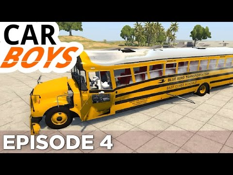 Nick and Griffin's School Bus Rescue — CAR BOYS, Episode 4