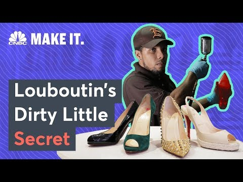 The Dirty Little Secrets Behind Louboutins' Red Soles | CNBC Make It.