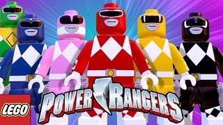 LEGO Avengers (Vingadores) Power Rangers PACK (MOD)