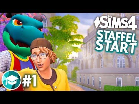 Start ins STUDIUM! 👨🎓 Let's Play Die Sims 4 An die Uni Erweiterungspack #1 (deutsch)