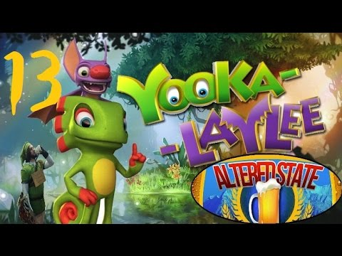 Lets Play Yooka-Laylee Part 13 - Tubbz the Bubble-less Hot Tub