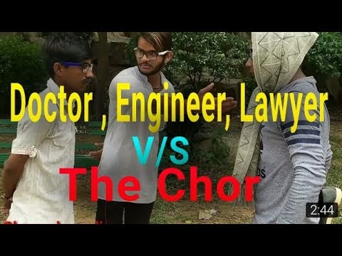 skp | Chor Rock Baki Shock | Doctor | Lawyer | Engineer | The Chor | Degree | Du | Money