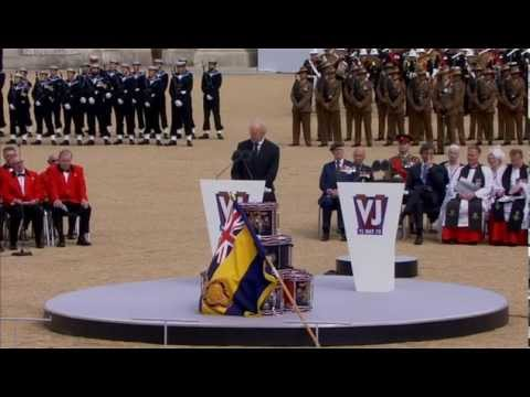 The Road to Mandalay by Rudyard Kipling read by Charles Dance - 70th VJ Day  commemoration London