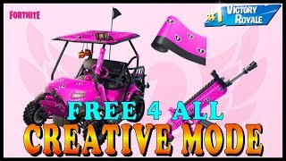 FORTNITE CREATIVE MODE (FREE 4 ALL) With SUBSCRIBERS - NEW HUGE UPDATE v7.40 COUNTDOWN!