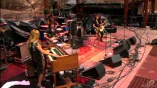 grace potter and the nocturnals nothing but the water red rocks