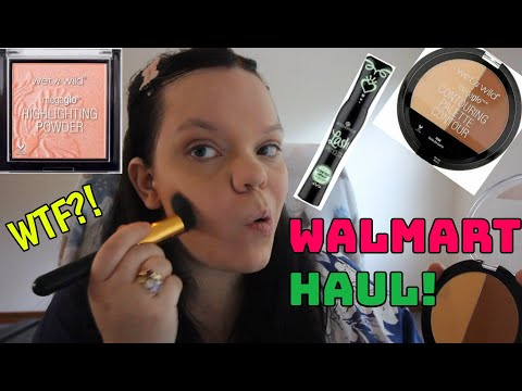 UMMMM...WALMART MAKEUP HAUL AND TUTORIAL! TESTING OUT SOME OG AND NEW PRODUCTS