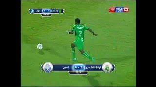 كأس مصر 2016 - يوسف أوباما يقدم هدية عيد الأم في مباراة أسوان