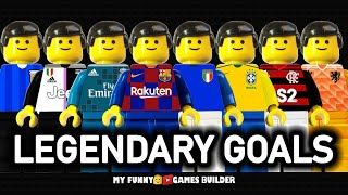 Best Legendary Goals In Football History in LEGO Football Animation Film