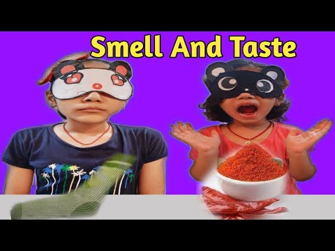 Download Smell Or Taste Challenge | Fun Challenge Video | #kidsfunn | Vandinisingh