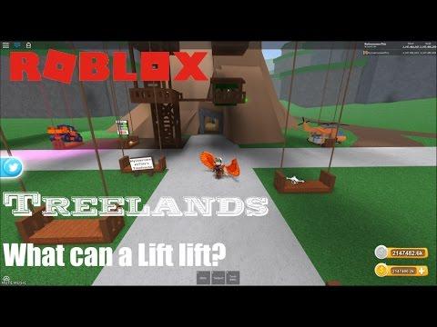 Roblox Treelands Updates Sneak Peeks 2 What Can A Lift Lift