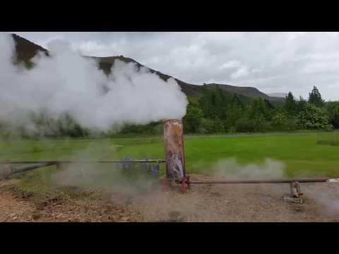 Iceland Hveragerði geothermal
