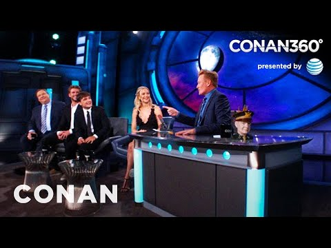 CONAN360: 'The Hunger Games' Cast's Memorable Fan Encounters