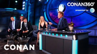 "CONAN360: ""The Hunger Games"" Cast"