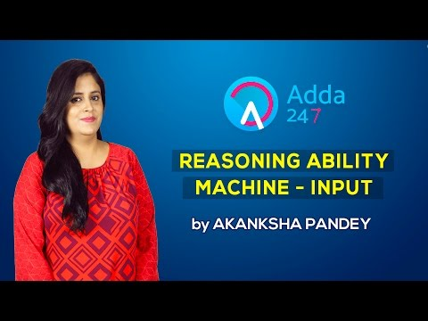 Reasoning Tricks for Competitive Exams : Machine - Input