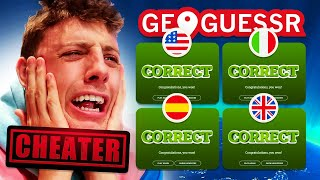 CHEATING AGAINST THE FANS? (Sidemen Geoguessr)