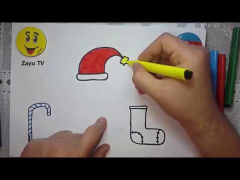 Sekil Cekmek Resim Yap Yeni Il Merry Christmas Single Bells Yeni Yil New Year Zayu Tv Youtube