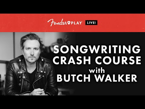 Fender Play LIVE: Songwriting Crash Course With Butch Walker   Fender Play   Fender