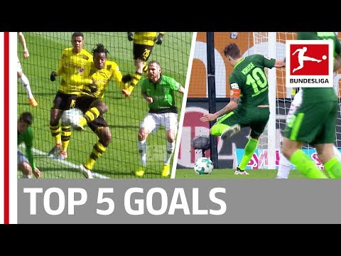 Batshuayi, Kalou, Kruse & More  - Top 5 Goals on Matchday 27