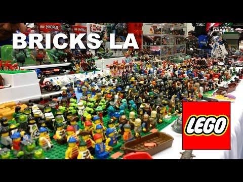 Bricks LA Highlights Jan 2016 LEGO Brick Convention Pasadena CA