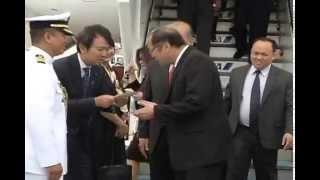 Arrival at Tokyo Haneda International Airport (HND) 6/24/2014