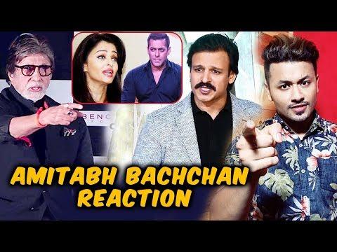 Amitabh Bachchan Reaction On Vivek Oberoi's Salman-Aishwarya Meme Controversy