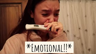 FINDING OUT I'M PREGNANT ON CAMERA *Watch Me Ugly Cry*