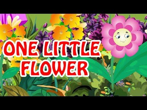 One Little Flower | Nursery English Rhyme