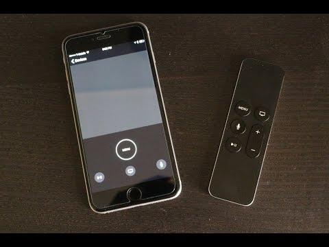 Apple tv smartphone remote