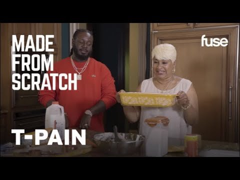 T-Pain Talks Developing His Unique Style While Cooking With Momma Pain | Made From Scratch