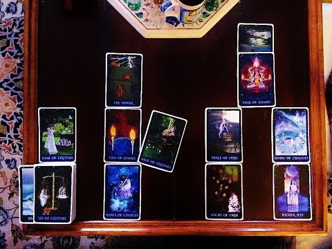 TWIN FLAME UNION Divine Masculine Message of Love & Tower of Queen of  Wands! 2/21/12