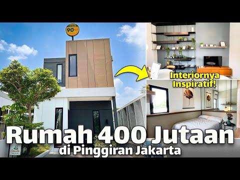 Rumah Murah 2 Lantai Cuma 400 Jutaan di Pinggiran Jakarta! Citaville Parung Panjang