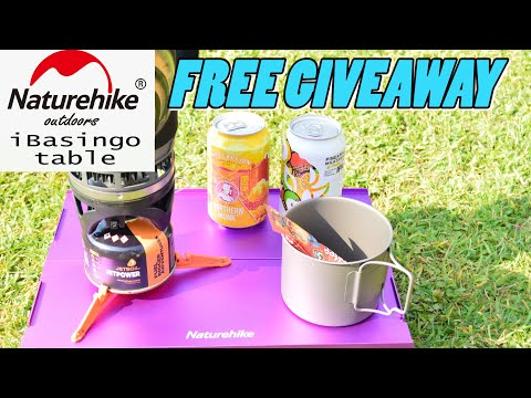 Naturehike IBasingo Lightweight Table / Free Giveaway X2