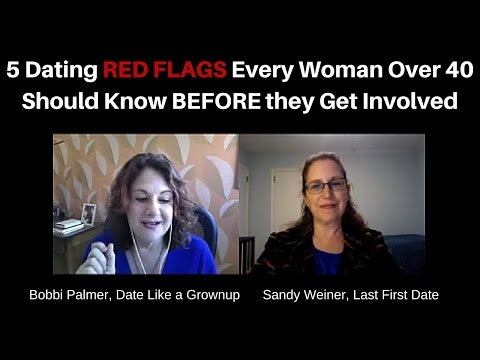 5 Dating RED FLAGS Every Woman Over 40 Should Know BEFORE they Get Involved