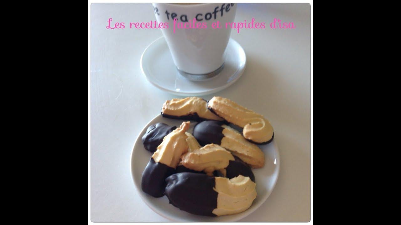 recette de sabl au chocolat facile youtube. Black Bedroom Furniture Sets. Home Design Ideas