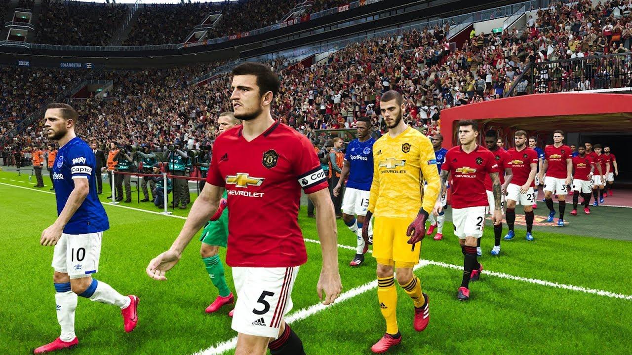 Everton vs Manchester United - Premier League 2020 ...