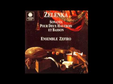 Jan Dismas Zelenka Sonatas for 2 Oboes, Bassoon and B.C. 1/2
