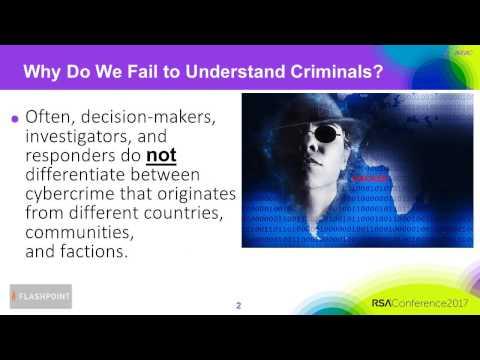 Quick Look: Psychology of an Eastern European Cybercriminal: Mindset Drives Behavior