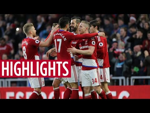 MATCH HIGHLIGHTS | Middlesbrough v Swansea City
